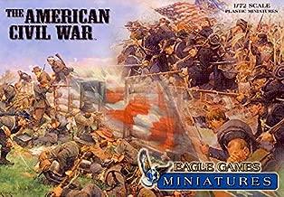 Eagle Games - Civil War Miniatures - 1/72 Scale - Game Pieces