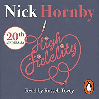 High Fidelity                   By:                                                                                                                                 Nick Hornby                               Narrated by:                                                                                                                                 Russell Tovey                      Length: 8 hrs and 8 mins     126 ratings     Overall 4.3