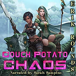 Couch Potato Chaos: Gamebound                   By:                                                                                                                                 Erik Rounds                               Narrated by:                                                                                                                                 Sarah Sampino                      Length: 17 hrs and 39 mins     51 ratings     Overall 4.0