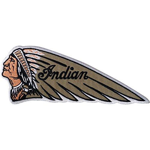 Parche indio bordado para planchar o coser en motocicleta