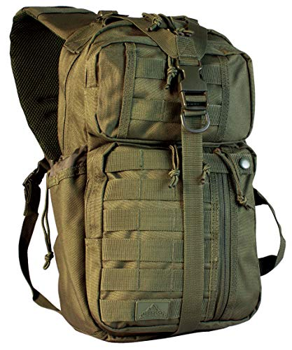 Red Rock Outdoor Gear Rambler Sling Pack – Rambler Sling Pack mixte adulte, Mixte, Rambler Sling Pack, 80201OD, Vert olive (Olive Drab), Taille unique