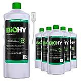 BIOHY Spülmittel (6x1l Flasche) + Dosierer | Frei von schädlichen Chemikalien & biologisch...