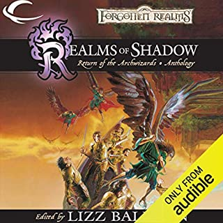 Realms of Shadow audiobook cover art