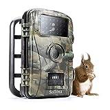 Sollona Caméra de Chasse 12MP 1080P HD 940 nm Camera Infrarouge Low Glow LEDs Trail Caméra P66...