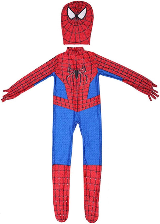 Avengers Spider-Man Superhero Muscle Costume Halloween Cosplay Costume Anime Dress Up,Spiderman-S