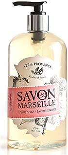 Pre de Provence Savon De Marseille Liquid Hand Soap for Bathroom, Laundry Rooms, Kitchen Sinks (16.9 fl oz) - Fig Grapefruit