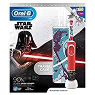 Specifically designed to be gentle for kids Round brush head sized for small mouths Extra-soft bristles are gentle on tender gums Suitable for ages 3+ Customize the brush handle with 4 Star wars themed stickers