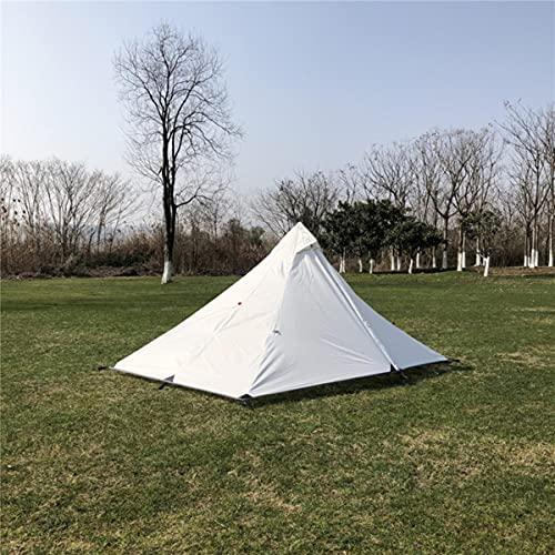 Einpersonen-Ultraleichtes stangenloses Pyramidenzelt Wasserdichtes 4-Jahreszeiten-Camping-Wander-Reisezelt Outdoor-Markisen Sun Shelter-Zelt-Nur Außenzelt, China