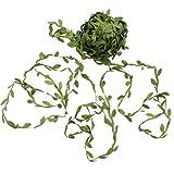 Cikuso 20M Décor à La Maison Artificielle Guirlande Plantes Vigne Faux Feuillage Fleurs Creeper Vert Lierre De Mariage Guirlande Accessoires