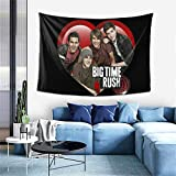 Big Time Rush Big Time Rush Tapestry tapestry wall hanging art deco wall hanging home decoration tapestry 60*40inch One Size