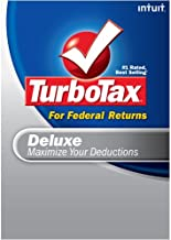 TurboTax Deluxe + eFile 2008 (Old Version) [DOWNLOAD]