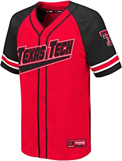 Colosseum Youth Texas Tech Red Raiders Wallis Baseball Jersey