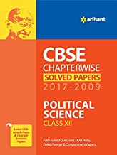 CBSE Chapterwise Solved Papers Political Science Class 12th
