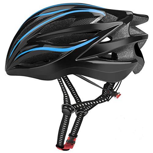 Six Foxes Fahrradhelm 2019 Specialized Damen Herren Fahrrad Helm, 52-58 cm (Blau)
