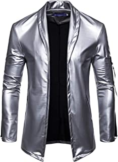 XFentech Leather Clothing Outerwear - Men Winter New Casual Classic Luxury Fabric Coat Long Sleeve Slim Fit Jackets