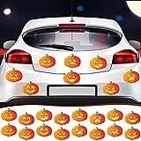 Halloween Magnet for Car Pumpkin Magnet Car Magnet Automotive Halloween Car Magnet for Halloween Thanksgiving Garage Door Refrigerator Window Decoration (16 Pieces)