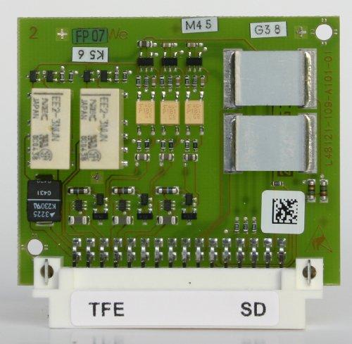 Aastra M100-TFE enthaelt die Komponenten für eine Tuerfreisprecheinrichtung FTZ-123 D12 mit DREI Klingeleingaengen