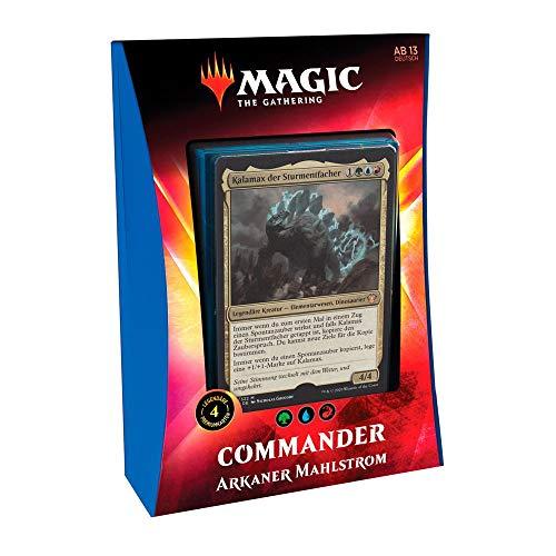 Magic The Gathering - Ikoria: Reich des Behemoth - Commander Deck | Auswahl | DEUTSCH, Booster:Blau