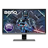 "BenQ EL2870U Monitor Gaming LED UHD-4K (risoluzione 3840 x 2160), 28"", 1 ms, HDR Eye-Care, Pannello TN, Altoparlanti, 2 x HDMI (v2.0); 1 x DP (v1.4), HDRi, Grigio Metallizzato"