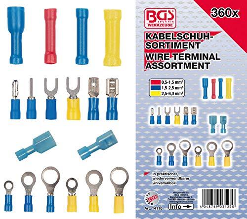 BGS 14110 | Kabelschuh-Sortiment | 360-tlg