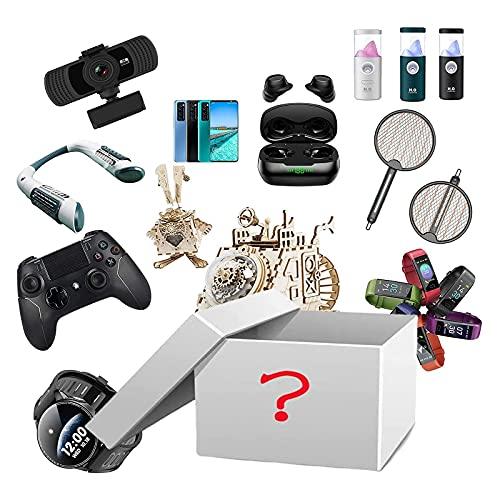 Lucky Mystery Box Electronics Box Mystery Blind Box Beauty Surprise Box Box Birthday Surprise Scatola Casuale Stile Casuale Esplora sconosciuto Regali sconosciuti per Amici Amici da Soli (Color : A)