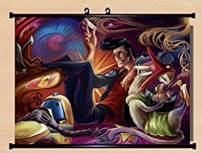 Home Decor Anime Space☆Dandy Wall Scroll Poster Fabric Painting 22 x 16 Inches -05