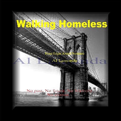 Walking Homeless audiobook cover art