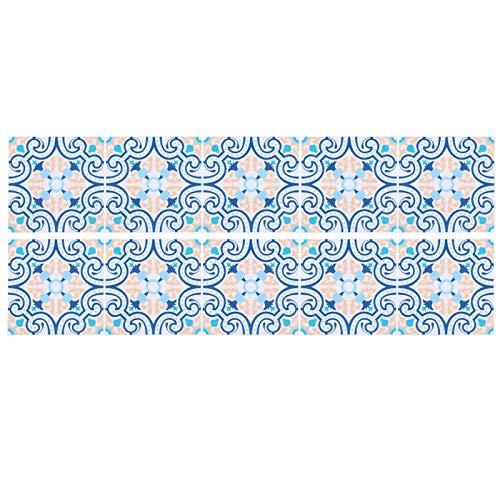 Adhesivos para azulejos de pared, mural autoadhesivo extraíble, hogar, bricolaje, baño, cocina, regalo, pelar y pegar, pintura para azulejos, pegar en los azulejos para la decoración del dormitorio de