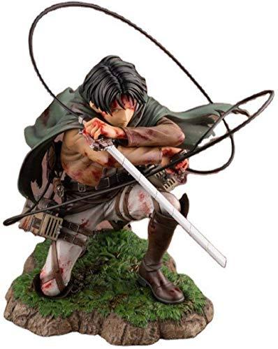 18 cm Attack auf Titan Figure Rival Ackerman Action Figure Paket Ver. Levi PVC Action Figure Rivère Kollektion Modell Spielzeug