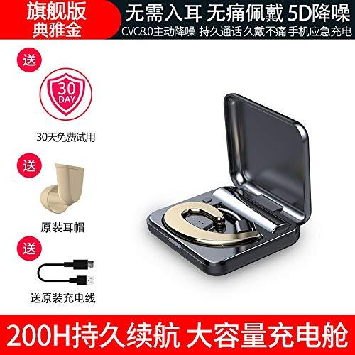 Factory directe tape cartridge enkele oor Amoi S9 draadloze Bluetooth headset oor stijl Mini Universal een generatie van vet (Kleur: Diamond blauwe riem magazijn)
