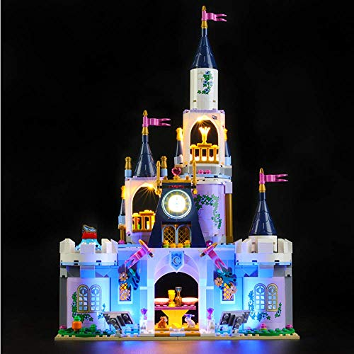 WDLY LED-Beleuchtung Kit Für (Mädchen Cinderella Dream Castle) Building Blocks Modell - Led Licht-Kit Mit Lego Kompatibel 41.154 (Nicht Eingeschlossen Modell)