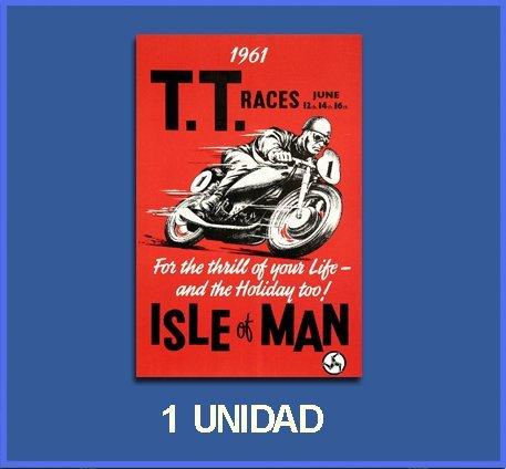 Ecoshirt 2K-C48Y-OIZ9 Pegatinas Stickers Isla Isle of Man Ref: Dp267 Aufkleber Autocollants Adesivi Moto Decals, 10 cm
