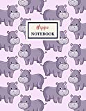 HIPPO Notebook: Composition Book: Wide Ruled Journal