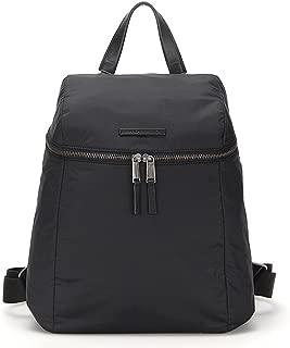 MANDARINA Duck Ladies Backpack Casual School Bag Nylon BERRETTO BET01 (BlackBERRETTO BET01001))