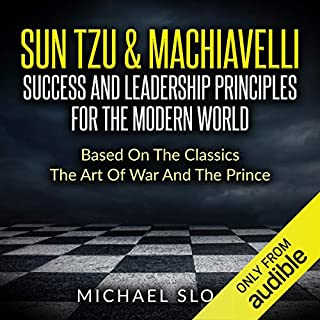 Sun Tzu & Machiavelli audiobook cover art