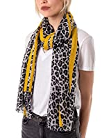 Leopard Print Scarves for Women   Animal Print Scarfs   Long Neck Scarf   Presents for Birthdays   Mustard Red   Graduation Gifts   UK Prime   Christmas   Black Friday   Shawls & Wraps