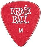 Ernie Ball Medium Red Picks, Bag of 144