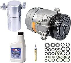 AC Compressor & A/C Repair Kit For Buick LeSabre Pontiac Bonneville 3.8L V6 3800 2000 2001 2002 2003 2004 2005 - BuyAutoParts 60-80237RK New