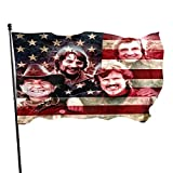 CHRISEvans The Highwaymen Flag Garden Flags Banner Theme Flag Band Flag Home Farmhouse Gardens Porch Outdoor Decoration Holiday Decoration,3x5FT