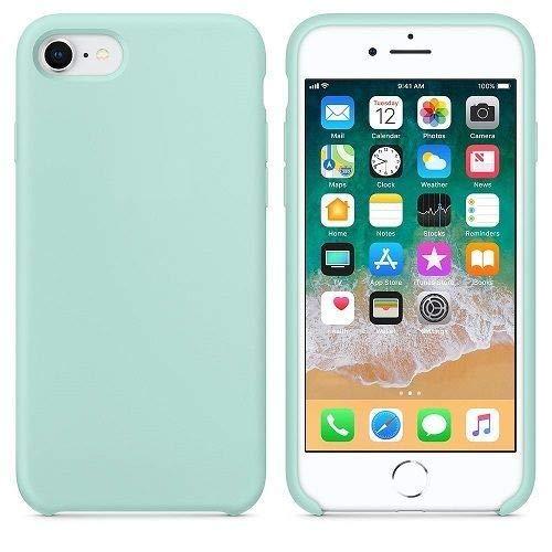 CABLEPELADO Funda Silicona iPhone 6/6s Textura Suave Color Verde Claro