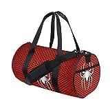 Rootti - Bolsa de deporte para gimnasio, diseño de araña, color rojo