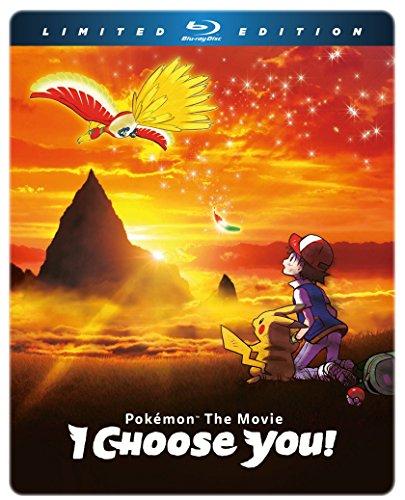 Pokemon The Movie: I Choose You! LImited Edition Blu-ray Steelbook [Reino Unido] [Blu-ray]