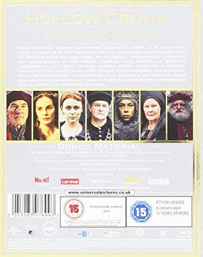 Hollow Crown: Series 1 And 2 (6 Blu-Ray) [Edizione: Regno Unito] [Edizione: Regno Unito]