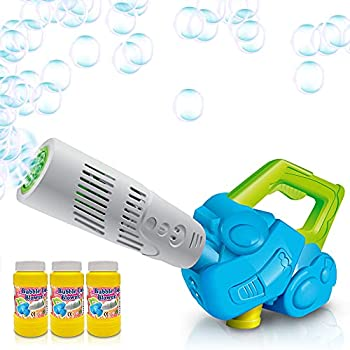 ArtCreativity Bubble Leaf Blower Bubble Solution Included Fun Bubbles Blowing Toys for Boys and Girls Cool Birthday Gift for Kids
