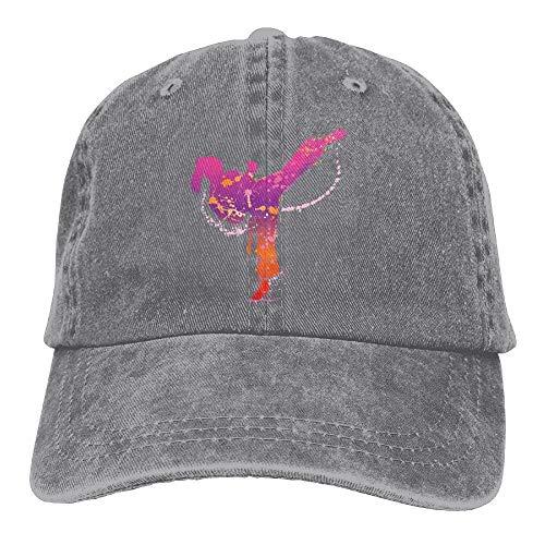 Preisvergleich Produktbild AOHOT Herren Damen Baseball Caps, Hüte,  Mützen,  Classic Baseball Cap,  Karate Girl Denim Hat Adjustable Male Stretch Baseball Hat