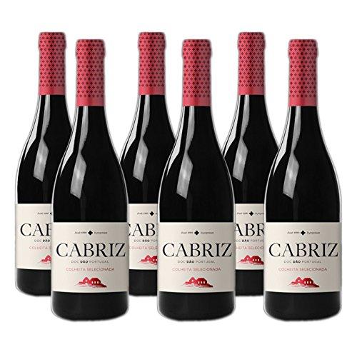 Cabriz Colheita Selecionada - Rotwein - 6er Pack x 0.75l