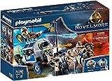 PLAYMOBIL Novelmore 70392 Transporte del Tesoro Novelmore, Para Niños de 4 y 10 Años de Edad