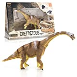 Educational Realistic Dinosaur Figure | Brachiosaurus | Realistic Design Dinosaur Toy | Free Gift : Dino Stickers and kids LEARN FACTS Collection Card.
