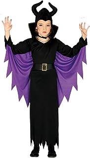Guirca-87720 Disfraz 10-12 años Hada Malvada, Color Negro/