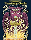 Aspiring Artists Coloring Books: Fantasy Owls